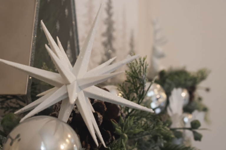 Holiday decorating for your mantel