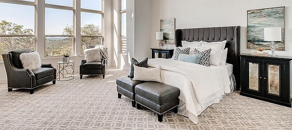 First Impression Home Staging bedroom decorating photo.