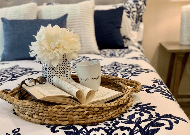 Transition Into Summer Decor In The Bedroom